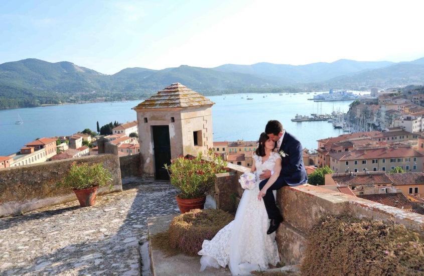 Il matrimonio di alex e diletta nella cornice romantica dell'isola d'Elba